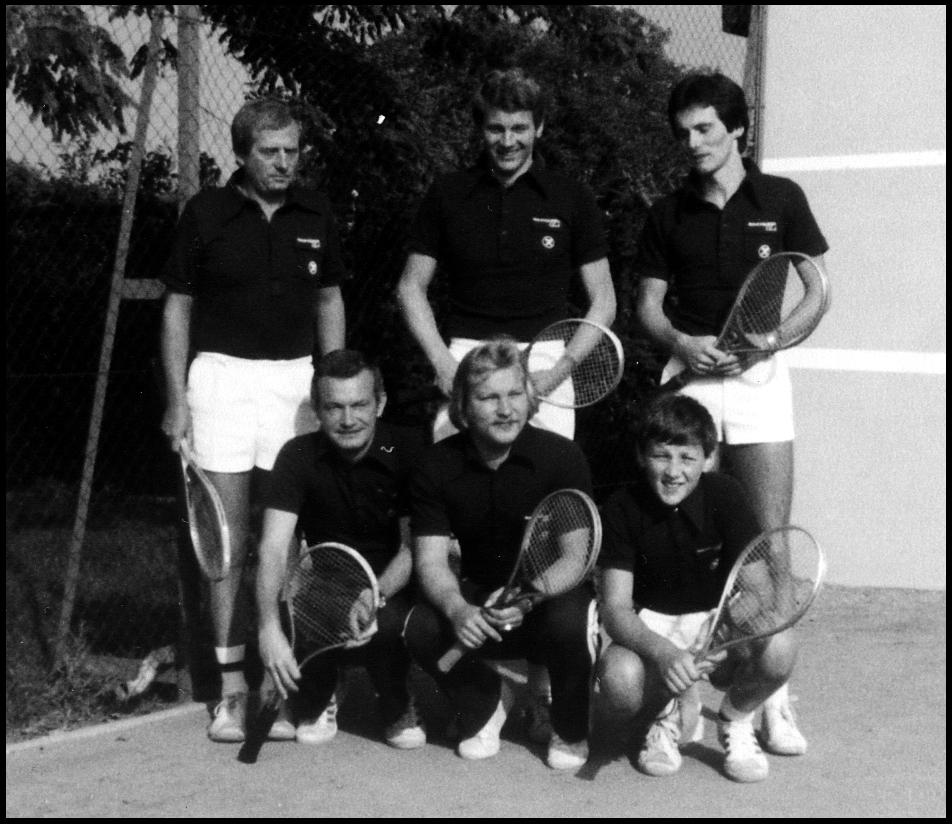 TC 1: stehend von li. nach re. Hosemann, Waldhart, Landgraf; hockend von li. nach re. Feigl, Stanzl, Mayer
