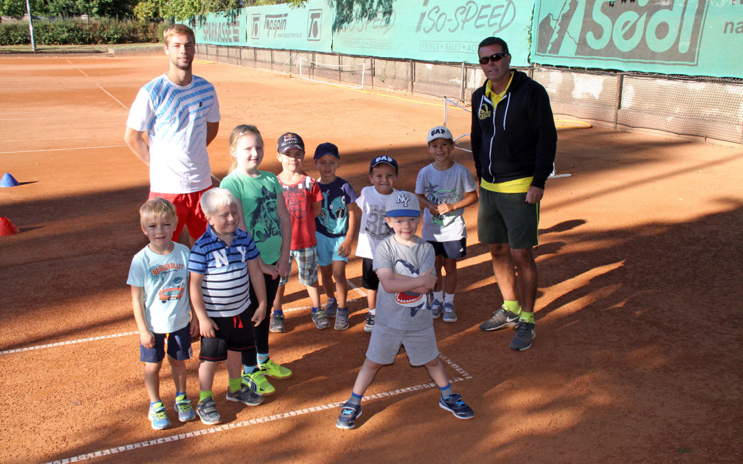 Tenniskindergarten der Tennisschule