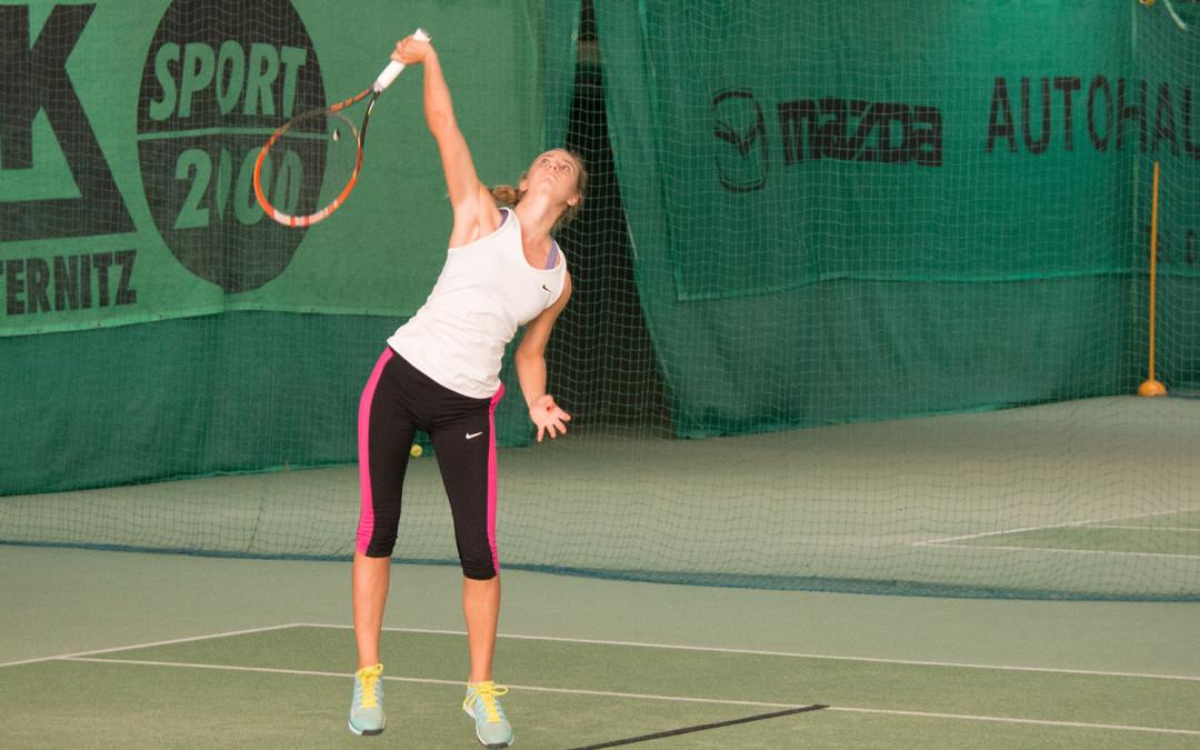 Ines Baumgartner – fulminanter Start ins neue Tennisjahr