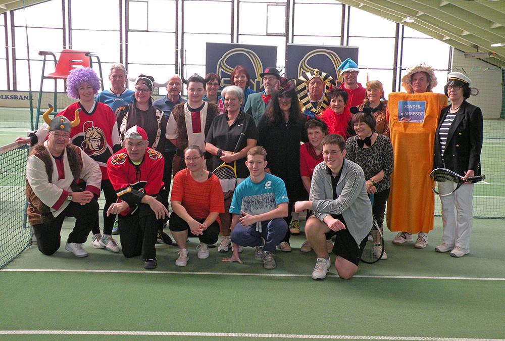 Fachings-Mixed im Tenniscenter