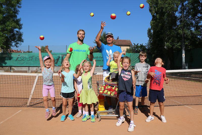 Ferien-Abschluss-Camp der Tennisschule